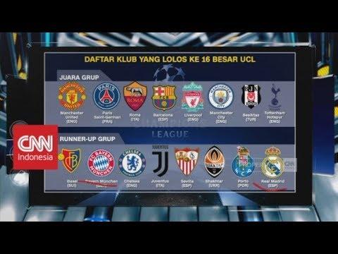 Jelang Undian Babak 16 Besar Liga Champions