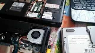 Ускоряем ноутбук, замена жёсткого диска(Это второе видео (из 3-х) по ускорению работы ноутбука. Заменяем жёсткий диск. Китай рулит здесь - http://goo.gl/1jEzna..., 2014-04-22T16:54:52.000Z)
