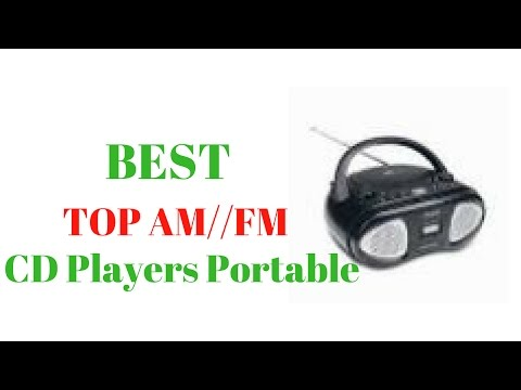Best top Am//fm CD players portable//walmart portable cd player