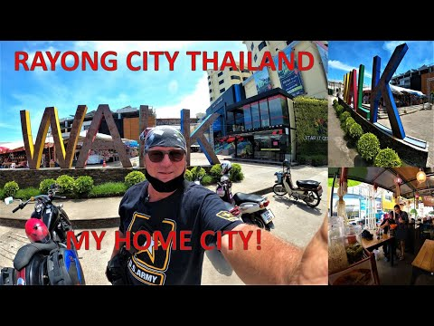 RAYONG CITY THAILAND, MY HOME CITY