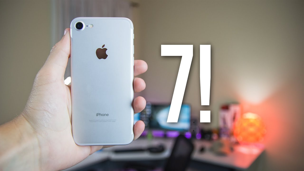iPhone 7 (Silver) 48 Hours Later REVIEW! Water Tests + Camera ...
