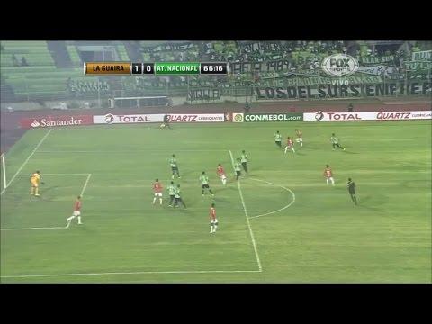Deportivo La Guaira 1 - 1 Atlético Nacional Copa Sudamericana 2014 from YouTube · Duration:  3 minutes 18 seconds