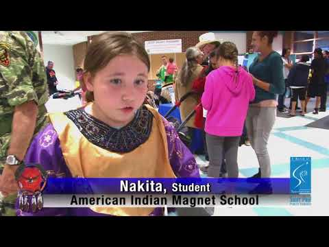 Fall Feast and Powwow Celebrated at American Indian Magnet School