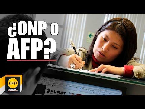 Sepa si le conviene la AFP o la ONP