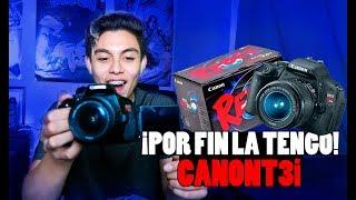 LA MEJOR CÁMARA PARA GRABAR VIDEOS EN YOUTUBE - UNBOXING CANON T3i   CODEK
