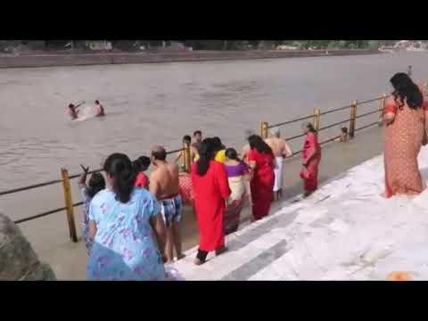 Har ki podi, open Bath, Haridwar. Ganga...