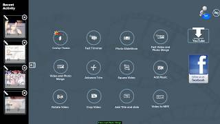 Video and Photo Merge Tutorail of Kinderjoy Video Editor & SlideShow Maker