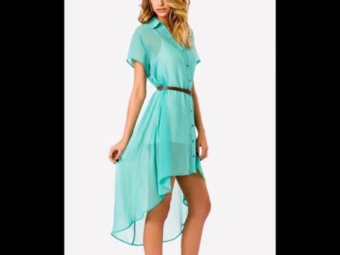 Летние платья фасоны. Какие платья в моде