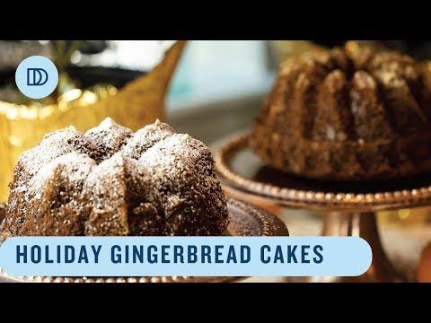 Gingerbread Bundt Cakes