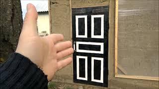 Реставрация старой двери/самая дешёвая стройка/Новая Жизнь