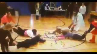 UNEDITED Tomah VAMC CREW Hungry Hungry Hippos Video