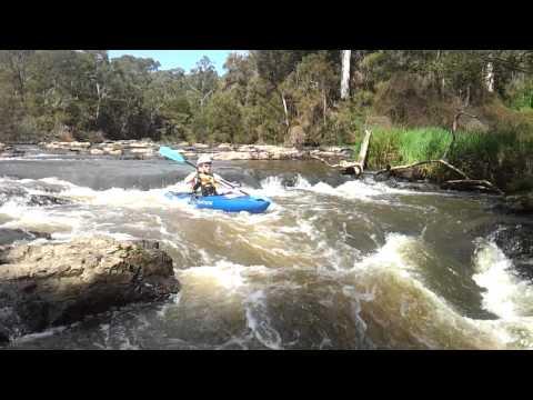 Kayak Yarra River - Bend of Islses Chute