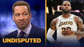 Chris Broussard defends LeBron's 'never cheat the game' comments after Lakers win | NBA | UNDISPUTED