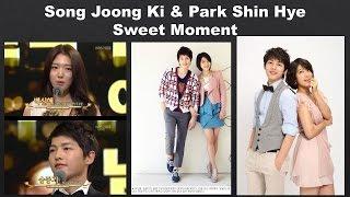 Video Song Joong Ki and Park Shin Hye Sweet Moment download MP3, 3GP, MP4, WEBM, AVI, FLV Mei 2018