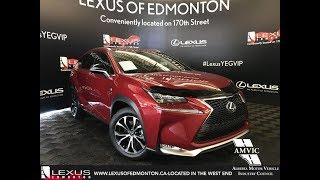 Red 2017 Lexus NX 200t F Sport Series 2 Review Edmonton Alberta - Lexus of Edmonton