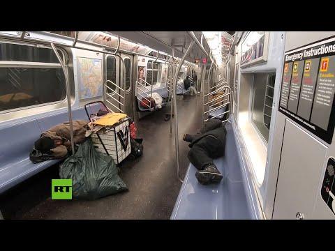 RT en Español: Muere la primera persona sin hogar a consecuencia del coronavirus en Nueva York