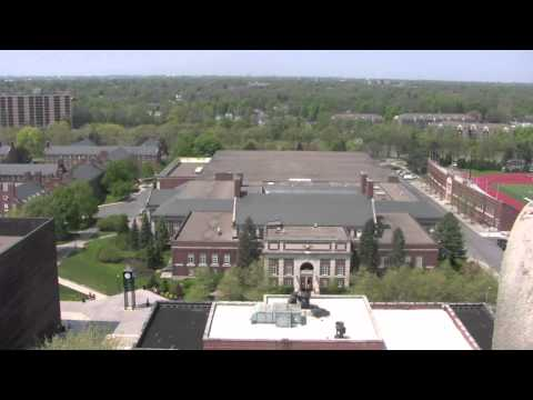 A visit to the Rush Rhees library tower @ the University of