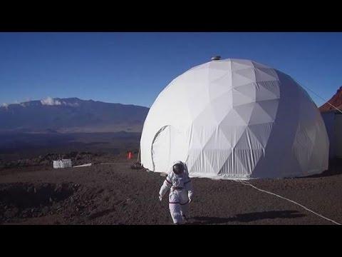 Leben wie auf dem Mars: NASAExperiment nach einem Jahr beendet