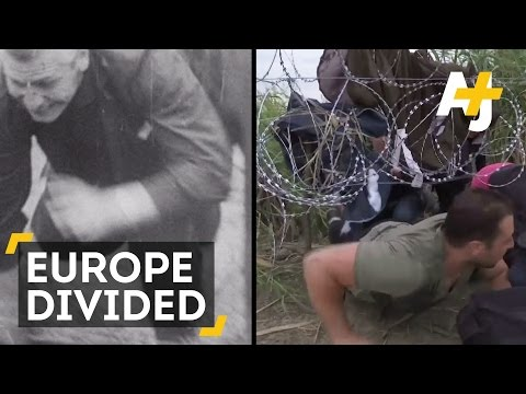 Europe Divided 25 Years After German Reunification