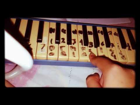 Gugur bunga with pianika