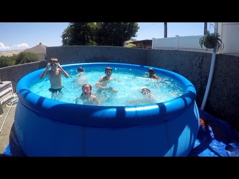How to Set Up a Swimming Pool & Filter Pump