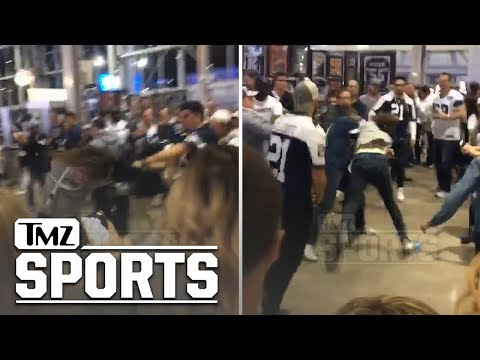 Dana McKenzie - SEAHAWKS FAN GETS BUTT KICKED BY COWBOYS FANS After Playoff Game