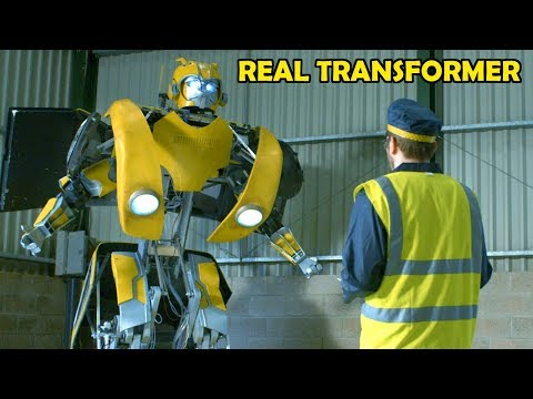 Building Bumblebee the REAL TRANSFORMER #4 | James Bruton