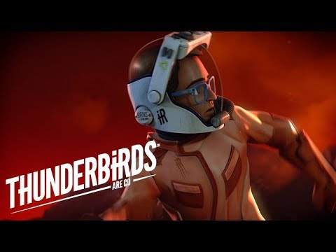 Brains and Dr Questa Escape The Lava | Thunderbirds Are Go
