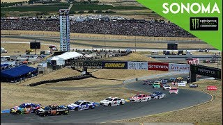Monster Energy NASCAR Cup Series- Full Race -Toyota / Save Mart 350