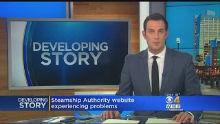 Steamship Authority Website Down
