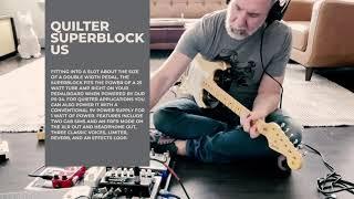 Quilter SuperBlock US Demo with Corey Witt