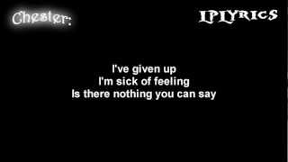 Linkin Park- Given Up [ Lyrics on screen ] HD