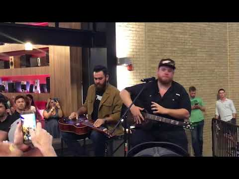 Luke Combs Sheriff If You Want To acoustic