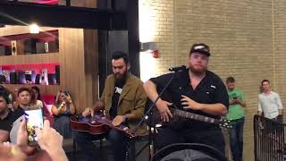 Luke Combs Sheriff You Want To acoustic