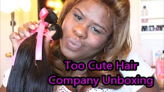Unboxing My Weave Too Cute Hair Company Thumbnail