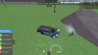 Bugatti Chiron crashes | Car Crusher 2 | ROBLOX