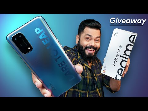 realme X7 Pro Indian Unit Unboxing And First Impressions | Giveaway ⚡ Dimensity 1000+, 120Hz & More