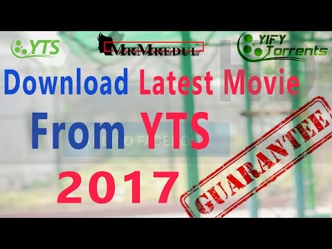 How to download easily any movie from YTS torrent movie site 2017