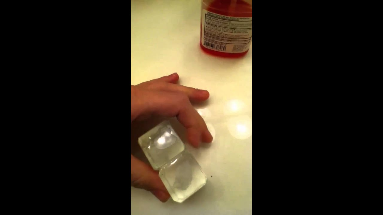 Cool glass stick together without glue - YouTube