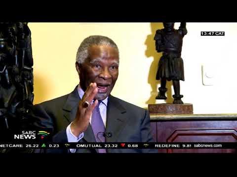Former President Mbeki meets with John Magufuli