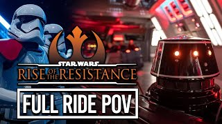 Star Wars: Rise of the Resistance - Our First Ride POV (with Breakdown) in Galaxy's Edge