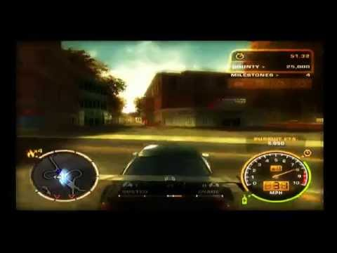 Need For Speed: Most Wanted PS2: BMW Police Chase HD