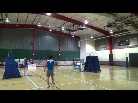 MS Choonggao Lee vs Marc Lai 2016 Yonex Greater Austin Badminton Open