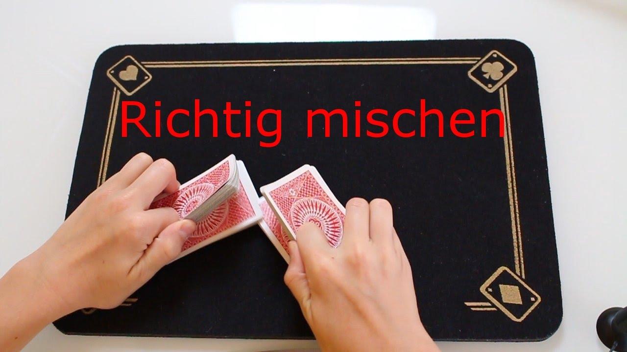 Karten Richtig Mischen