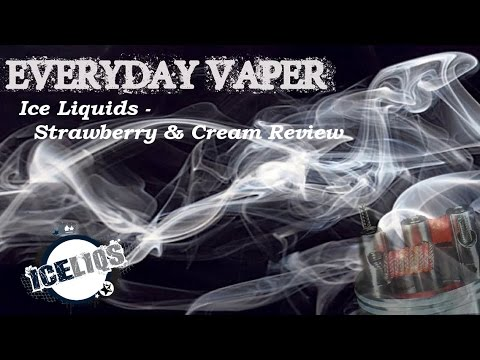 ICE Liquids - Strawberry and Cream Ejuice Review