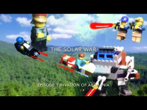 The Solar War Episode 1 Invasion of Archania: TRAILER