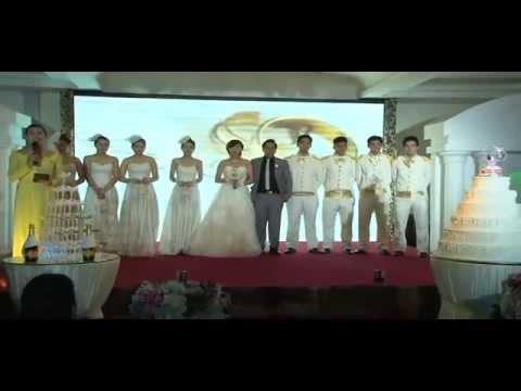 Thế Huy & Ngọc Anh Wedding - Tiệc cưới tối tại nhà hàng The Chateau