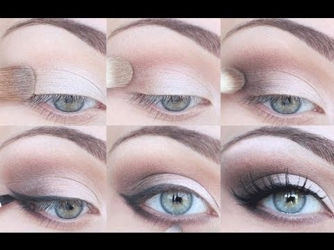 STEP BY STEP EYESHADOW TUTORIAL - FOR ALL EYE SHAPES! - YouTube