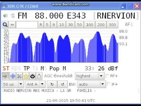 [Es] 88,0 - Radio Nervión, Bilbao/ Ganeta (PVA-BI), Spain, 2496 km, RDS, 21st June, 2015