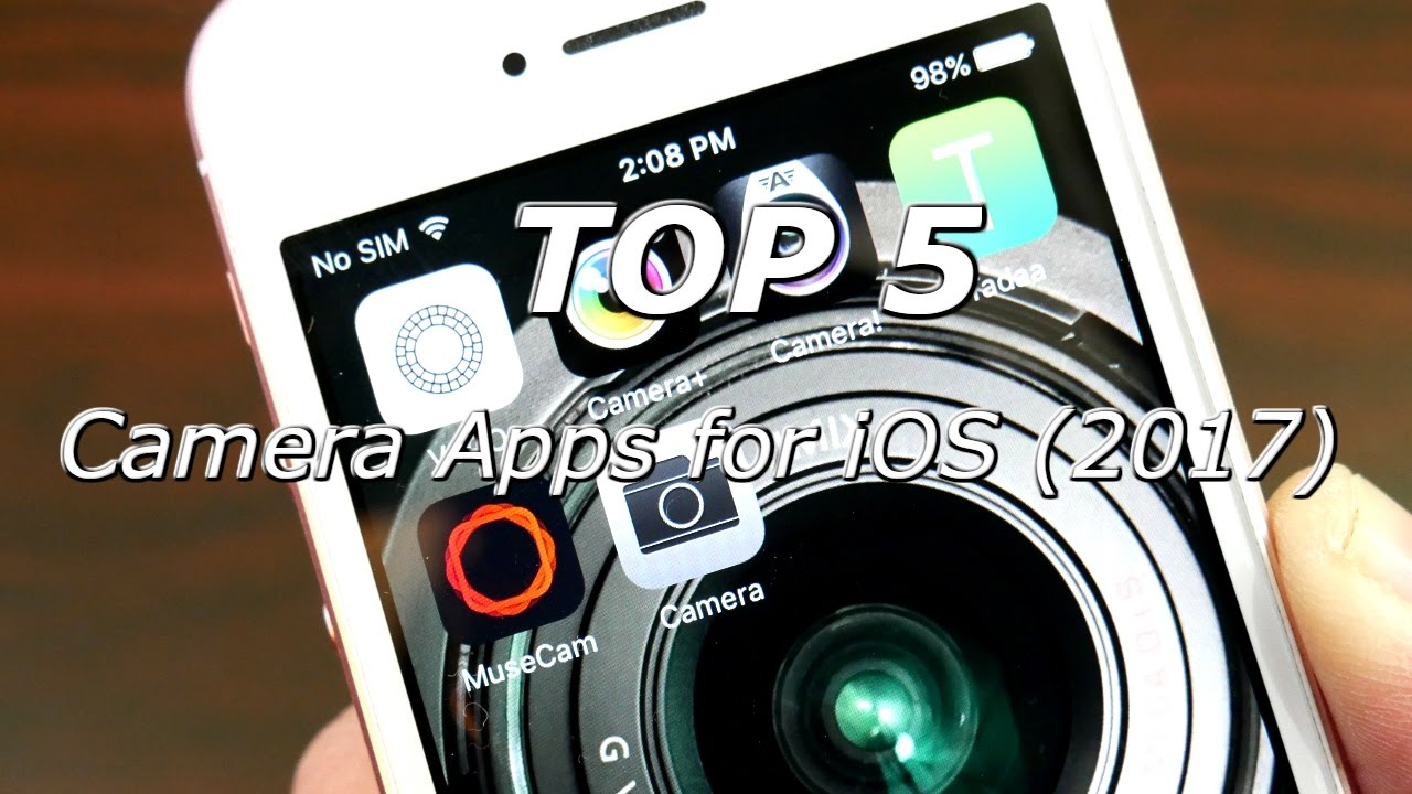 5 Best Camera Apps iOS (2017) - YouTube